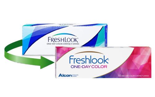 e3eff4ae679da FreshLook One-Day em LENTES DE CONTACTO 365®
