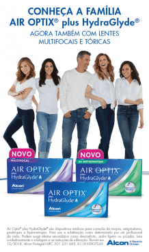 Air Optix Hydraglyde Lentes de Contacto