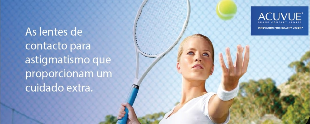 As suas Lentes de Contacto 1-Day Acuvue Moist for Astigmatismo em Lentes de contacto 365
