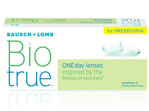 Lentes de Contacto Biotrue OneDay for Presbyopia