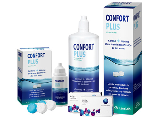 Lentes de Contato Biofinity Multifocal + Confort Plus - Packs