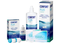 Lentes de Contato Purevision 2HD + Confort Plus - Packs