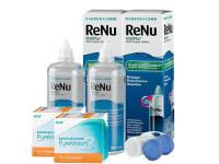 2b638f5349b5e Lentes de Contato Purevision 2 Astigmatismo + Renu Multiplus - Packs