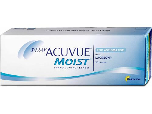 Lentes de Contacto 1-Day Acuvue Moist for Astigmatism
