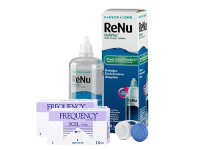 Lentes de Contato Frequency Xcel Toric + Renu Multiplus - Packs