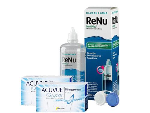 02fd1085acfe5 Acuvue Oasys + Renu Multiplus em LENTES DE CONTACTO 365®