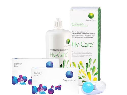 a68572d3a8 Biofinity Toric + Hy-Care em LENTES DE CONTACTO 365®  A Ótica de ...