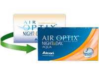 Lentes de Contacto Air Optix Night & Day Aqua
