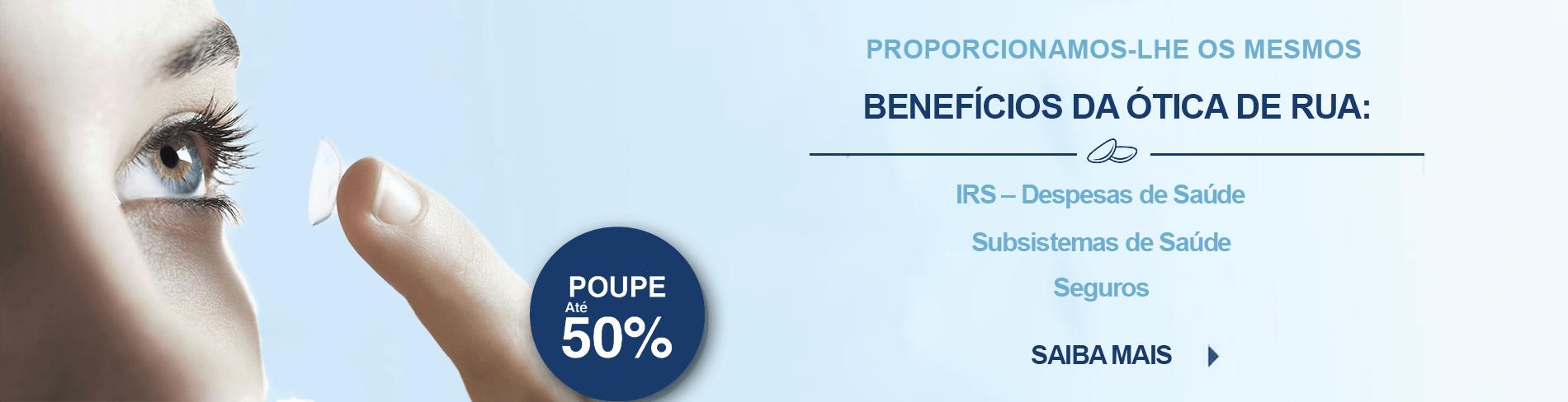 Subsistemas de Saúde, Seguros e IRS em Lentes de Contacto 365® 57100fb702